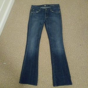 7 For All Mankind 'A Pocket' Bootcut Jeans